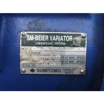 SUMITOMO CHHBJMN2A-4185DBY-174 SM-BEIER CYCLO VARIATOR 2HP