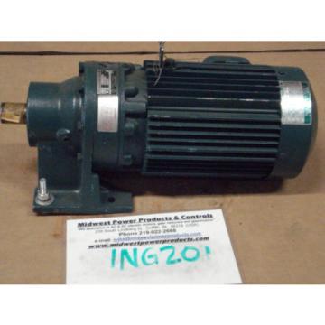 Sumitomo Cyclo gearmotor CNHM-1H-4100Y-6, 292 rpm, 6:1, 15hp, 230/460, inline