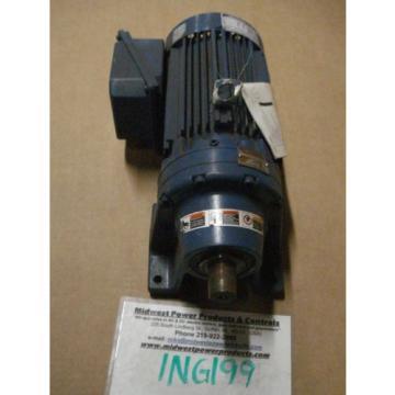 Sumitomo Cyclo gearmotor CNHM-1H-6095YB-6, 292 rpm, 6:1, 15hp, 230/460, inline