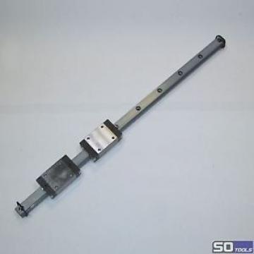 BOSCH REXROTH 2 x R201129330 Führungswagen amp; Schiene 630 mm Linearschiene