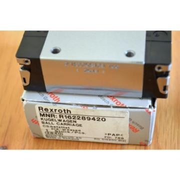 Origin Rexroth R162289420 Size20 Linear Rail Bearing Runner Blocks - THK CNC Router