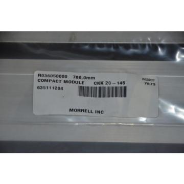 Bosch Rexroth CKK 20-145 R036050000 786mm Travel Screw Drive Linear Actuator