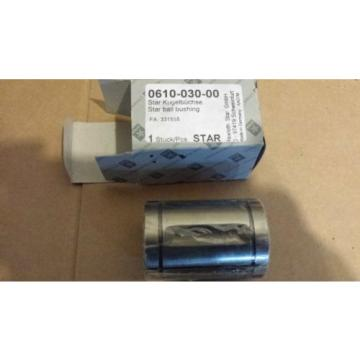 Origin Rexroth Star Linear Bearing Ball Bushing Actuator 0610-030-00