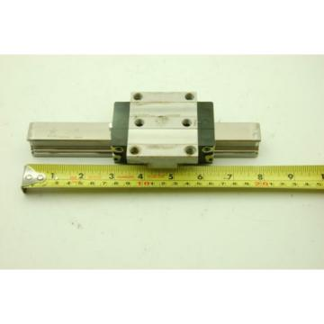 Rexroth Star Linear Motion Rail 200L,  2 Rails 2 Blocks