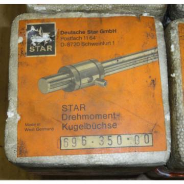 Rexroth/Star  Drehmoment-Kugelbüchse, Linearlager  0696-350-00 R0696 350 00