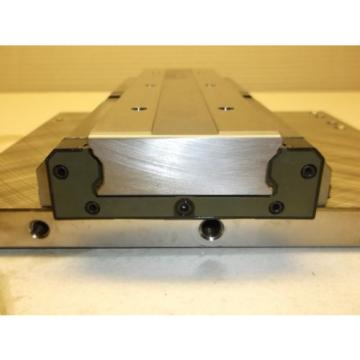 Rexroth Bosch linear Profil Schiene mit 2 Stk Wagen 69X23,5x250mm, 200x245mm