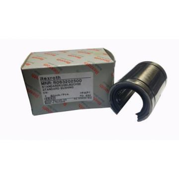 Bosch Rexroth Linear ball bearings R063202500 Standard Ball-type open