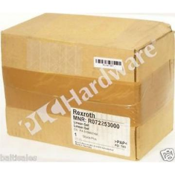 origin Sealed Bosch Rexroth R0722 530 00 Linear-Set 30mm Shaft Diameter Qty