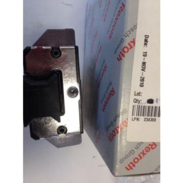 origin REXROTH/BOSCH R166539420 011 7210  5101-9638-A LINEAR RAIL BEARING  DG