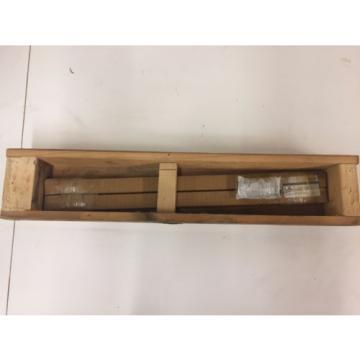 BOSCH REXROTH 1605-303-31, 0610mm GUIDE RAIL linear bearing rail