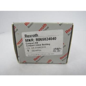 REXROTH MNR:R065824040 COMPACT LINEAR BUSHING