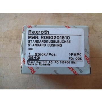 Origin IN BOX REXROTH R060201610 STANDARD LINEAR BALL BEARING BUSHING 16mm