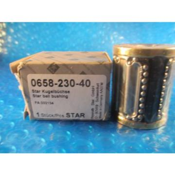 Star, Rexroth 0658-230-40, Compact Linear Bushing