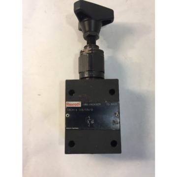 REXROTH R900458278 - Pressure Control Valve DBDH 6 G18/315/12