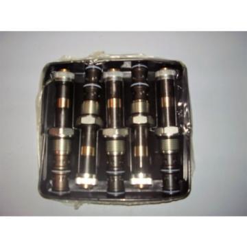 5 BOSCH REXROTH R934001514 HYDRAULIC CARTRIDGE VALVES