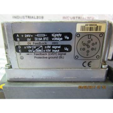 REXROTH HYDRAULIC SERVO VALVE 4WRPE10EA80SJ-2X/G24K0/A1M 0811-404-750 Origin