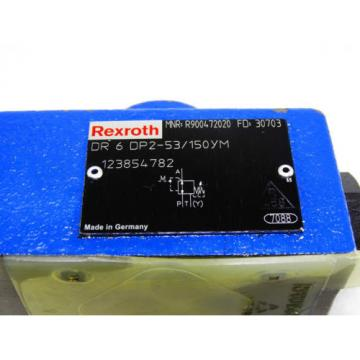Rexroth Bosch R900472020 / DR 6 DP2-53/150YM ventil reducing valve  /  Invoice