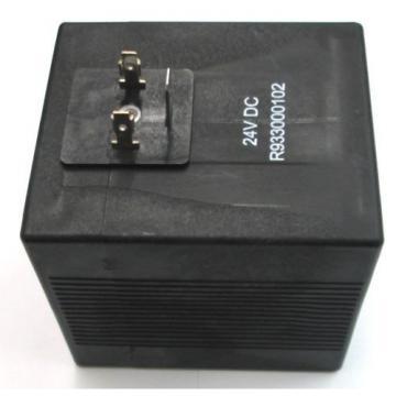 RR R933000102  - 24 Volt DC DIN 43650 Type A Coil for L753E146AI00000 Valve