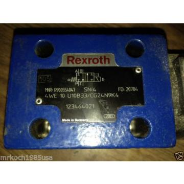 NOS REXROTH R900588201 HYDRAULIC DIRECTIONAL CONTROL VALVE
