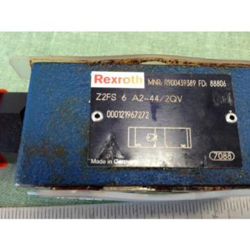 REXROTH HYDRAULIC CHECK VALVE  Z2FS 6-A2-44/2QV R900439389 FD 88806