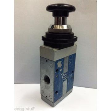 Rexroth 563 446 910 0 3/2 PALM OPERATED VALVE, CD7, M14X1,5