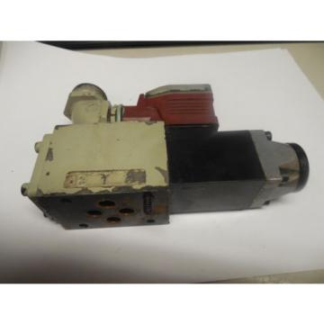 REXROTH SOLENOID VALVE 4WE6D517AW110N 9Z55L w/ WU35-4-A 304