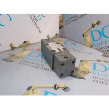 REXROTH 4WH6D52/0F/V/5 HYDRAULIC DIRECTIONAL CONTROL VALVE