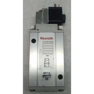 3723512220 REXROTH PNEUMATICS 3/2 WAY SOLENOID VALVE 24VDC Aventics Wabco Marine