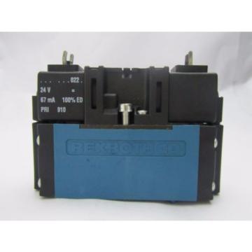 5763810220 AVENTICS Rexroth - CD01 - 5/3EC - 024DC Pneumtic Directional Valve