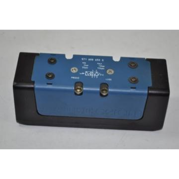 Rexroth Ceram Pneumatic 5/2 ISO2 Valve Model# 5716006500