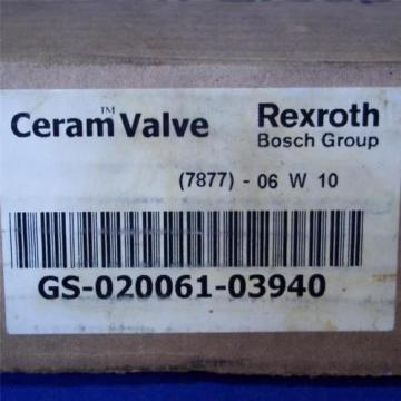REXROTH BOSCH GROUP 150PSI, CERAM VALVE GS-020061-03940 Origin