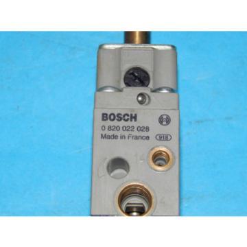 Bosch 0-820-022-028 Solenoid Valve 1/8#034;0125#034; Inch NPT 0820022028