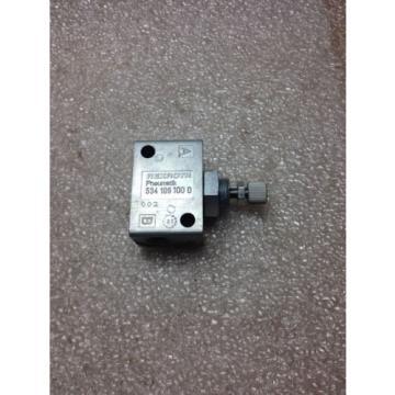 K1-3 REXROTH 534-106-100-0 VALVE