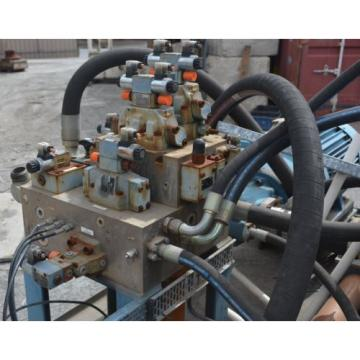 Large Rexroth Hydraulic Valve Manifold and directional control valves