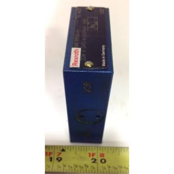 REXROTH HYDRAULIC VALVE R900323664 / ZDR 6 DPO-45/40YMV W80