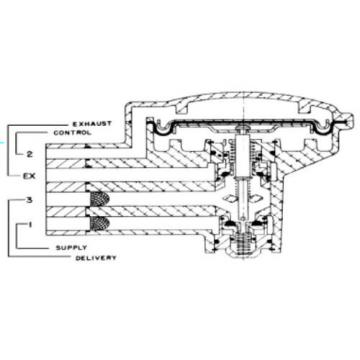 REXROTH Relay Valve C-2 R431000091 538975 250 PSI