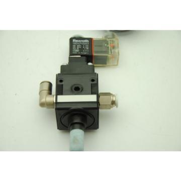 Bosch Rexroth FD:700 Series 24VDC Valve Manifold w/ 1824210243 Solenoid Valve