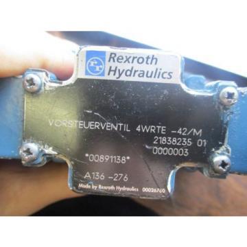 REXROTH HYDRAULICS VORSTEUERVENTIL SERVO VALVE 4WRTE-42/M