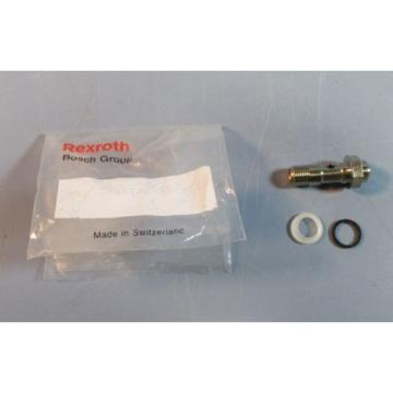 Bosch Rexroth 0821200215 1/8#034; Port Flow Control Exhaust Valve NIB