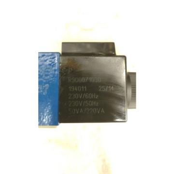 Origin Rexroth 4 WE 6 G62/EW230N9K4/ZV Directional Valve 24VDC 125A Solenoid