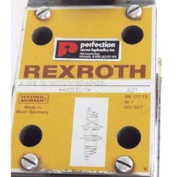 REXROTH 4 WE 10 W11/LW120-60NZ5L VALVE 4WE10W11LW12060NZ5L 442535/1