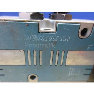 REXROTH PNEUMATIK VALVE 577 607 0 577607 CHARMILLES ROBOFIL 690 EDM