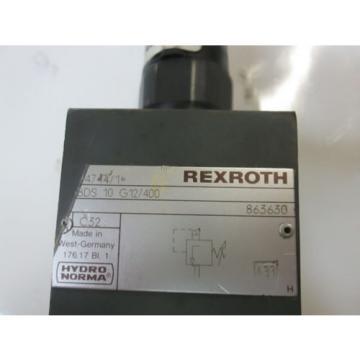 Rexroth Pressure Relief Valve DBDS10G12/400