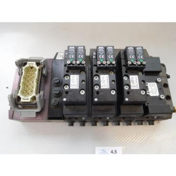 Rexroth Mecman R480263202 Valve terminal mit3 x rexroth 261-108-120-0 unused