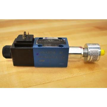 Rexroth 4WE6D62/EW110N9K4QMBG24 Hydraulic Direction Control Valve 24vdc - USED