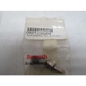 Rexroth Bosch 0821200204 Pneumatic Flow Control Valve G 1/8xG 1/8 Origin