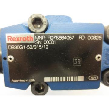 Rexroth Pilot Operated Pressure Relief Valve R978864057