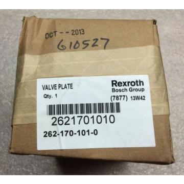Rexroth Valve Plate 2621701010, 262-170-101-0, Seal Box, Shipsameday #1611A