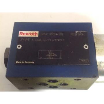 REXROTH HYDRAULIC SOLENOID VALVE Z4WE 6 E68-31/EG24N9K4 / R900941212