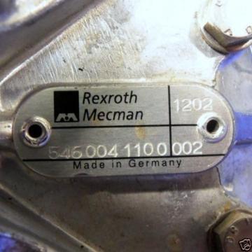 REXROTH MECMAN 18-24V 1/4#034;NPT 3 PORTS PNEUMATIC VALVE W BASE 546-004-1100-002